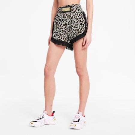 PUMA x CHARLOTTE OLYMPIA AOP Women's Shorts, Puma White AOP, small-SEA