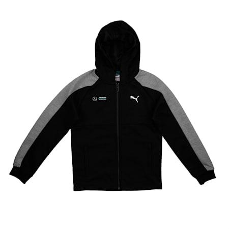 MAPM Kid Sweat Jacket France, Puma Black, small-IND