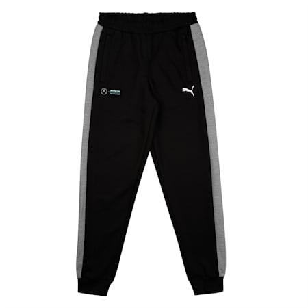 Mercedes T7 Kid's Sweat Pants, Puma Black, small-IND