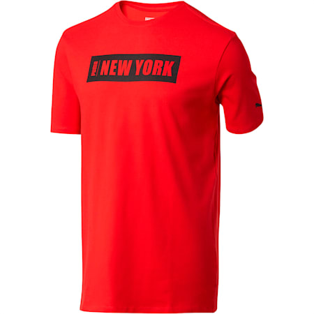 Global City Men's Tee, High Risk Red, small