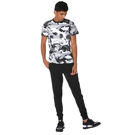 Classics Graphics All-Over Printed Men's Tee, Puma Black, small-IND