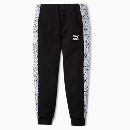 Monster Kids' Sweatpants, Puma Black, small-SEA