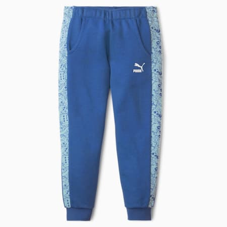 Pantalon de sweat Monster pour fille, Bright Cobalt, small