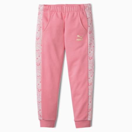 Monster Kids' Sweatpants, Peony, small-SEA