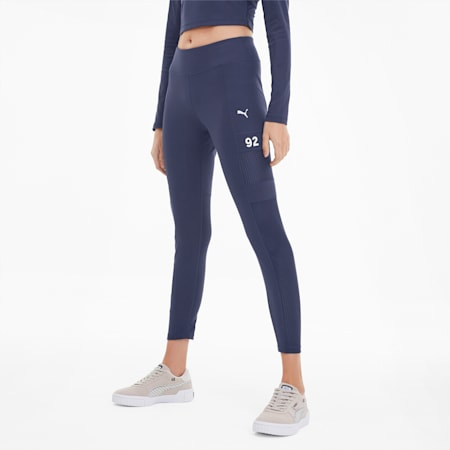 SG x PUMA Women's Leggings, Peacoat, small