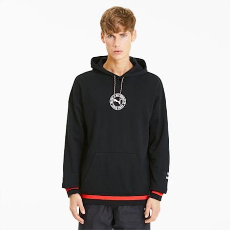 Sweatshirt à capuche Tailored for Sport pour homme, Puma Black, small