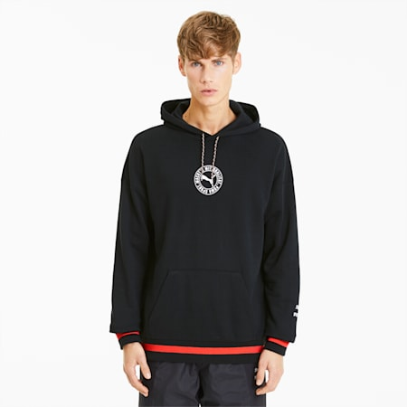 Tailored for Sport herenhoodie, Puma Black, small