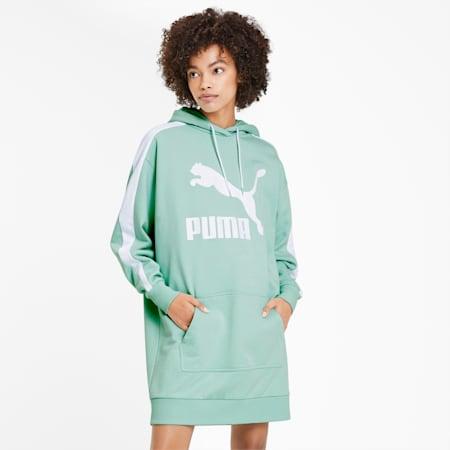 Classics T7 Women's Hooded Dress, Mist Green, small