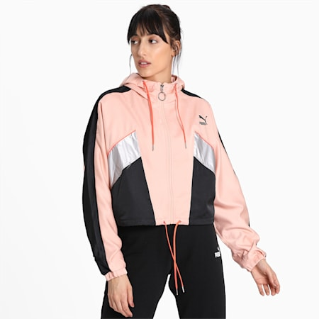 TFS Fashion Lux Track Jacket, Pink Sand, small-IND