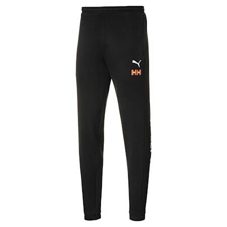 PUMA x HELLY HANSEN Fleece Pants, Puma Black, small