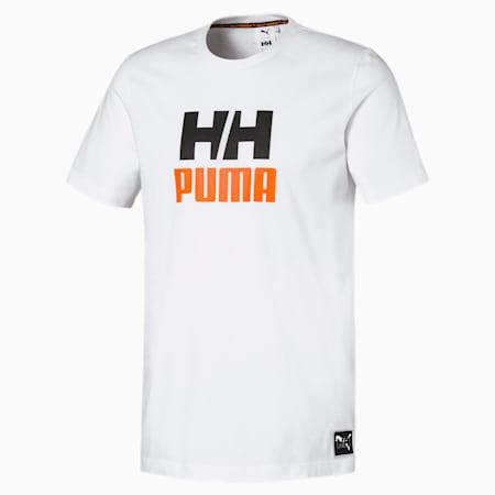 PUMA x HELLY HANSEN Crew Neck Cotton Tee, Puma White, small-SEA