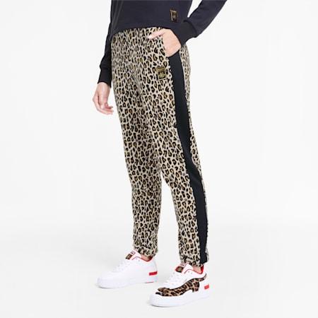 PUMA x CHARLOTTE OLYMPIA Tailored for Sport AOP Damen Trainingshose, Puma White AOP, small