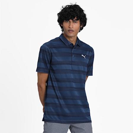 Alterknit Stripe Polo, Dark Denim, small-IND