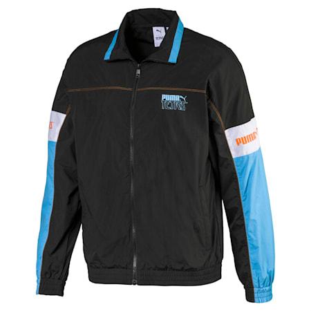PUMA x TETRIS Men's Track Jacket, Puma Black, small