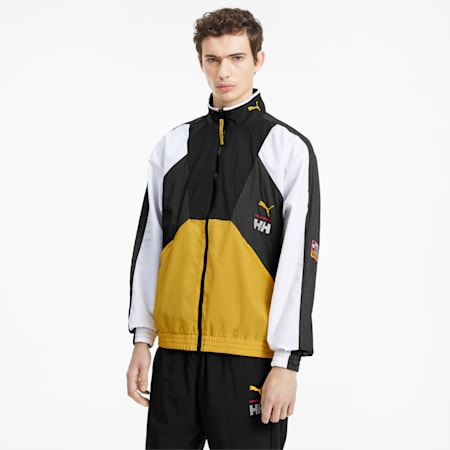 PUMA x HELLY HANSEN Tailored for Sport Herren Trainingsjacke, Citrus, small