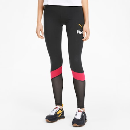 PUMA x HELLY HANSEN Women's Leggings, Puma Black, small-SEA