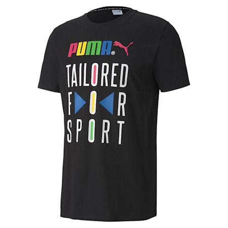 Graphic T-Shirt TFS, Puma Black, small-IND