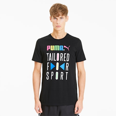 Graphic Tailored for Sport Men's Tee, Puma Black, small