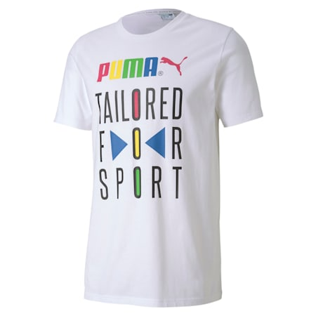 Graphic T-Shirt TFS, Puma White, small-IND