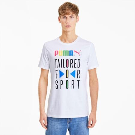 Graphic Tailored for Sport Men's Tee, Puma White, small-SEA