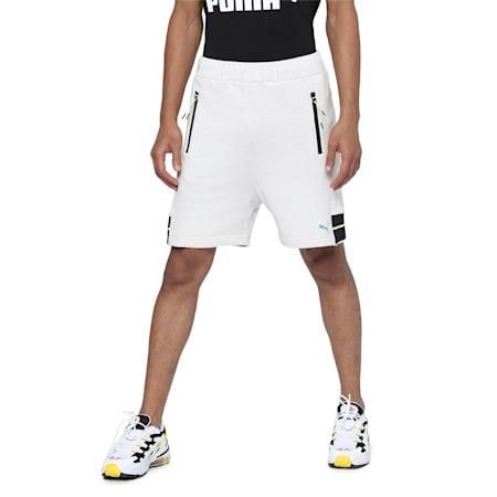 PUMA x CENTRAL SAINT MARTINS Men's Shorts, Light Gray Heather, small-IND