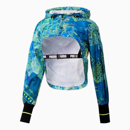 PUMA x CENTRAL SAINT MARTINS Cropped AOP Women's Jacket, Puma White, small-SEA