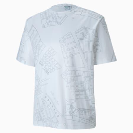 PUMA x CENTRAL SAINT MARTINS Short Sleeve-T-shirt til mænd, Puma White, small