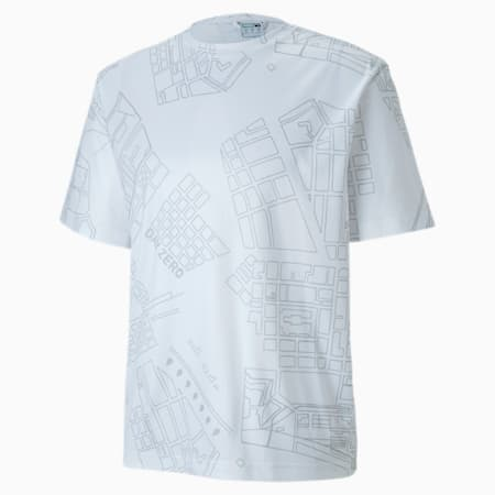 T-Shirt PUMA x CENTRAL SAINT MARTINS pour homme, Puma White, small
