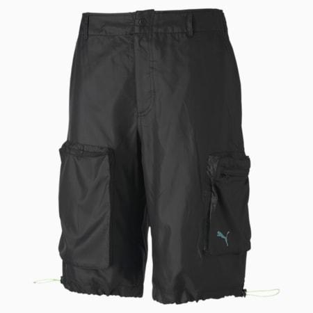 PUMA x CENTRAL SAINT MARTINS Herren Gewebte Shorts, Puma Black, small