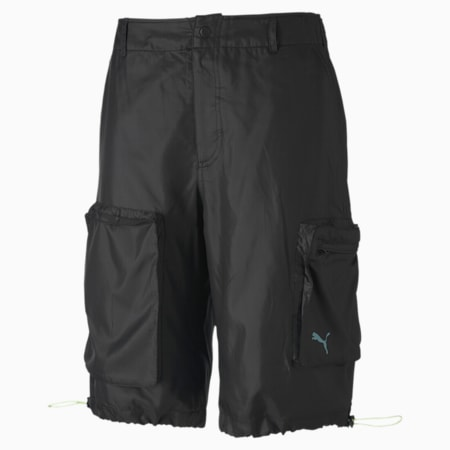 PUMA x CENTRAL SAINT MARTINS Men's Woven Shorts, Puma Black, small
