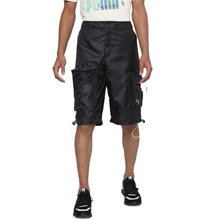 PUMA x CENTRAL SAINT MARTINS Woven Men's Shorts, Puma Black, small-SEA