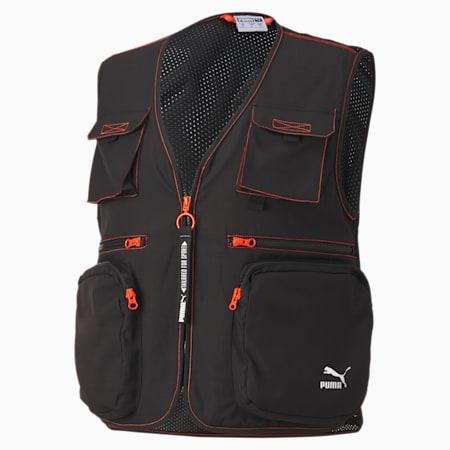 Tailored for Sport Industrial Woven-vest til mænd, Puma Black, small