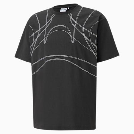 Camiseta PUMA x BILLY WALSH King para hombre, Puma Black, pequeño