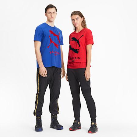 PUMA x BALMAIN Graphic T-Shirt, High Risk Red, small