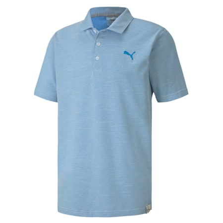 Verticals Polo, Ibiza Blue, small-IND