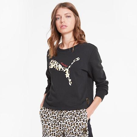 PUMA x CHARLOTTE OLYMPIA Damen Sweatshirt, Puma Black, small