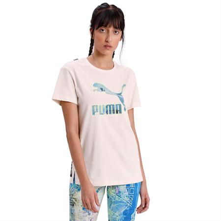 PUMA x CENTRAL SAINT MARTINS Women's Logo Tee, Puma White, small-IND