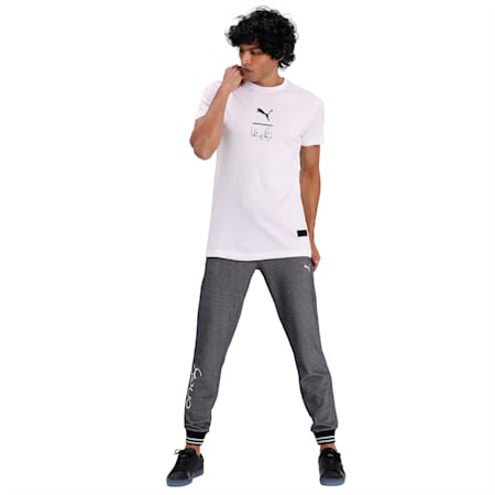 PUMA x Virat Kohli Signature Stylised Men's T-Shirt, Puma White, small-IND