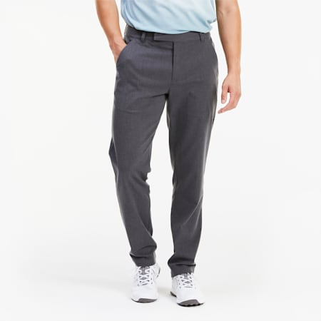 PUMA x ARNOLD PALMER Tab Men's Golf Pants, Iron Gate Heather, small