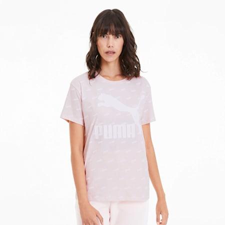 AOP ウィメンズ Tシャツ 半袖, Rosewater, small-JPN