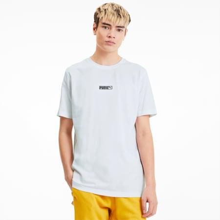 Classic Logo No.2 Men's T-Shirt, Puma White, small-IND