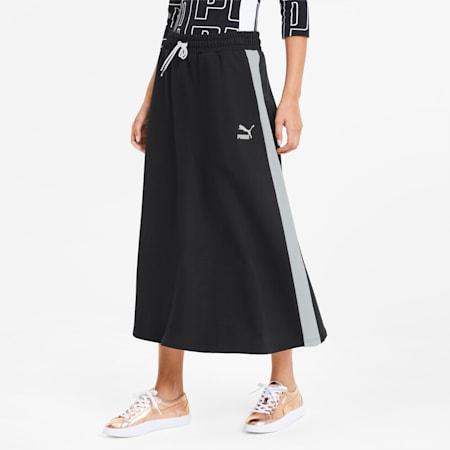 CLASSICS ウィメンズ ロングスカート, Puma Black, small-JPN