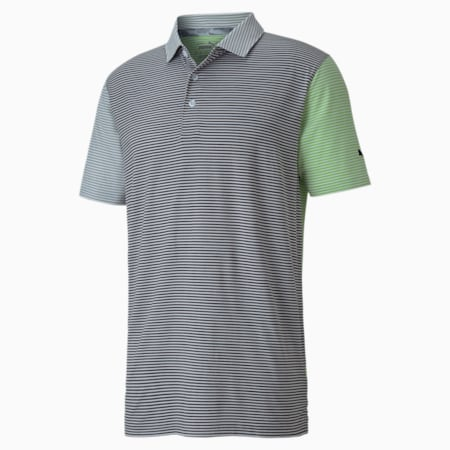 Cloudspun Men's Multicolor Polo, Greenery, small