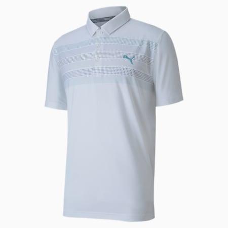 Road Map Men's Polo, Bright White, small