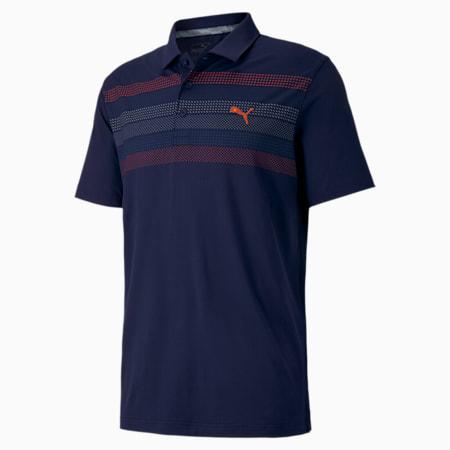 Road Map Herren Golf-Poloshirt, Peacoat, small