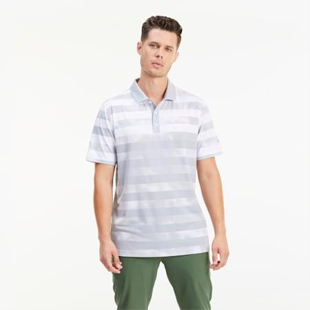 Polo de golf Camo Stripe pour homme, High Rise, small
