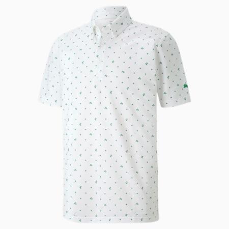 Piqué P dryCELL Men's Golf Polo, Amazon Green, small-IND