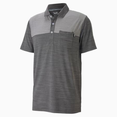 클라우드 스판 포켓 폴로 반팔 티셔츠/Cloudspun Pocket Polo, Puma Black Heather, small-KOR
