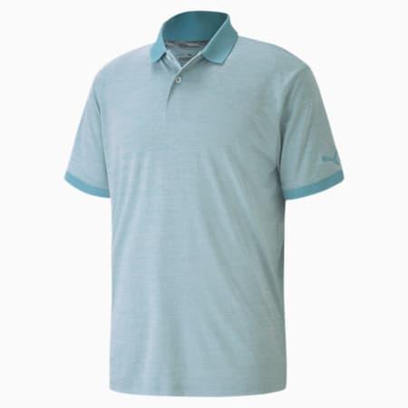 Jupiter Men's Golf Polo Shirt, Milky Blue, small-IND
