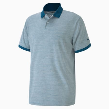 Jupiter Men's Golf Polo Shirt, Digi-blue, small-IND